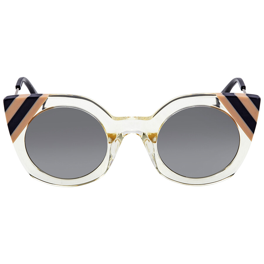 bfe67a4eca Fendi Grey Gradient Cat Eye Sunglasses FF 0240 S 40G 9O 47 - Fendi ...