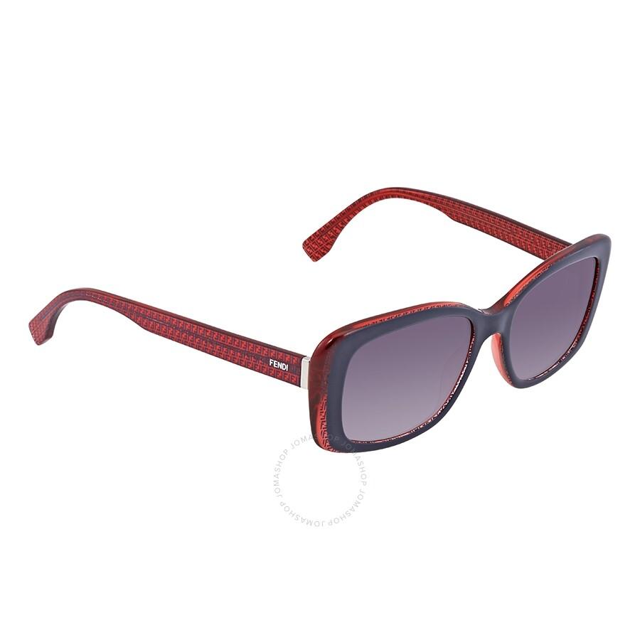 fd521eb9c1 Fendi Grey Gradient Rectangular Sunglasses FF 0002 S 7PP9C 53 ...