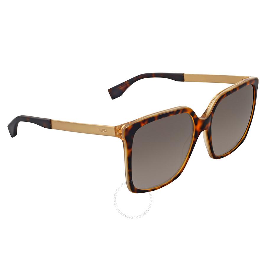 df5fa7afc9391 Fendi Grey Gradient Square Sunglasses Fendi Grey Gradient Square Sunglasses  ...