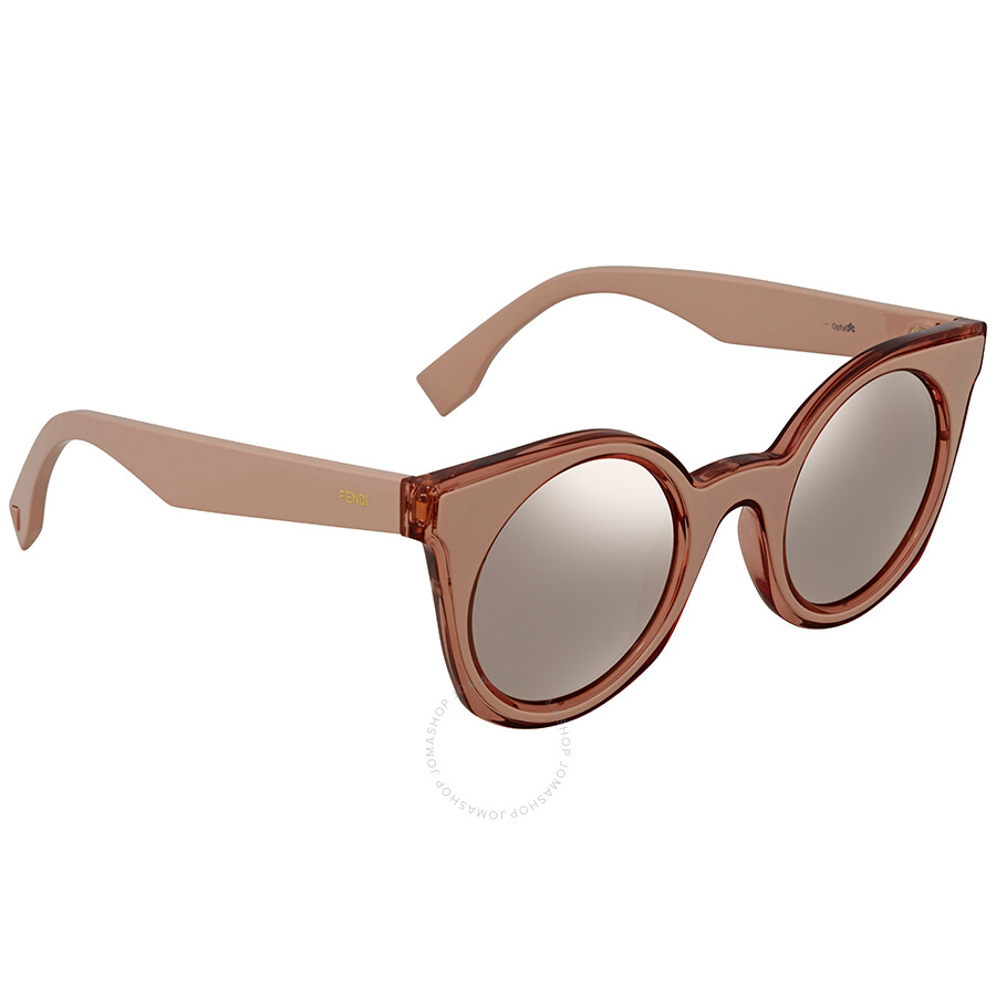 6f2627cff8c Fendi Round Sunglasses FF 0196 S JQ2480J - Fendi - Sunglasses - Jomashop