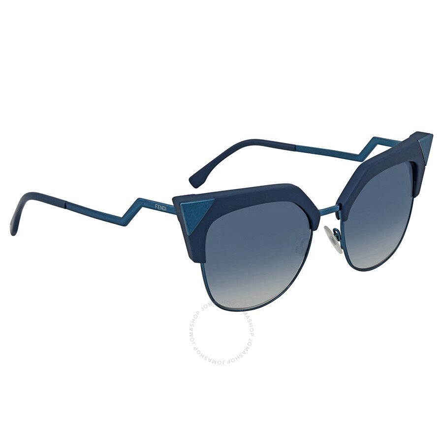 36d7ebe2740 Fendi Iridia Blue Gradient Cat Eye Sunglasses FF 0149 S ZI95408 ...