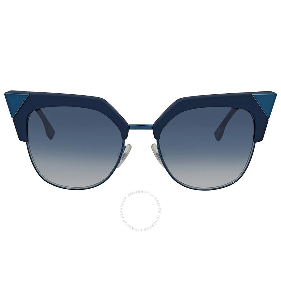 d7bfded74a842 ... Fendi Iridia Blue Gradient Cat Eye Sunglasses FF 0149 S ZI95408 ...