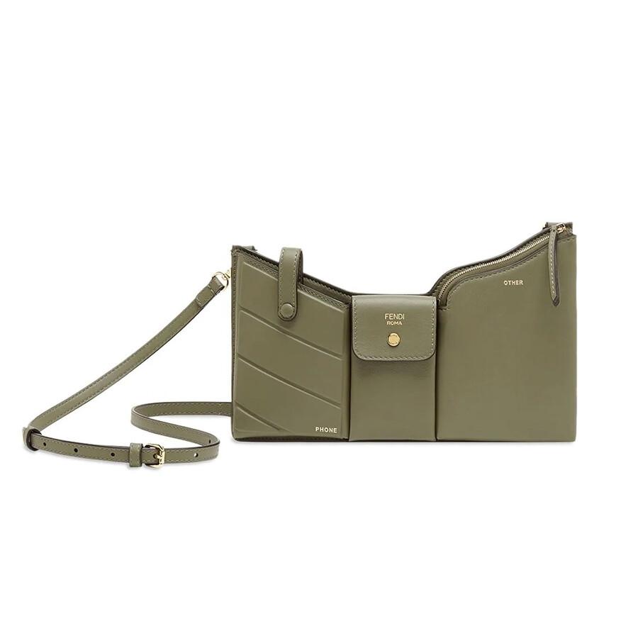 Las Green Three Pockets Mini Bag