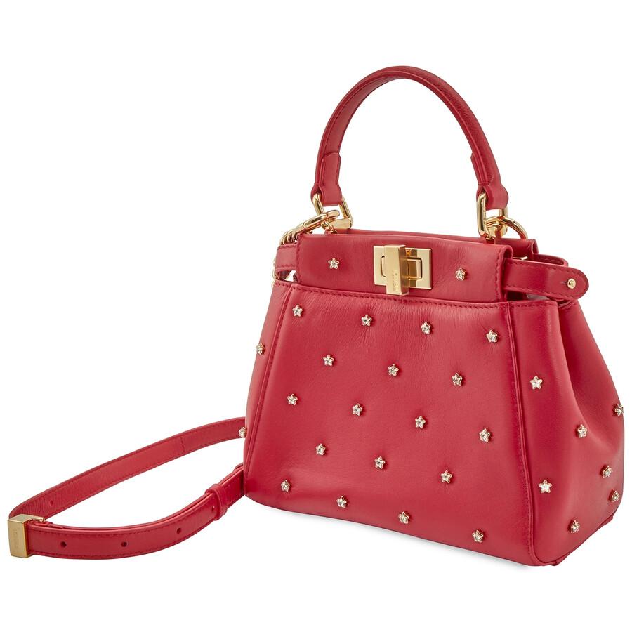 Kaboo Iconic Red Leather Mini Bag