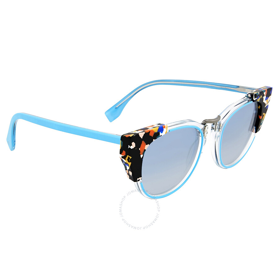 86a7421f700e5 Fendi Metropolis Azure Blue Sunglasses - Fendi - Sunglasses - Jomashop