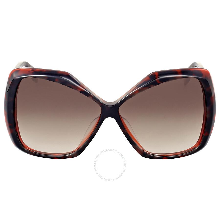3c3b8f46bfa Fendi Orange Havana Oversize Sunglasses - Fendi - Sunglasses - Jomashop