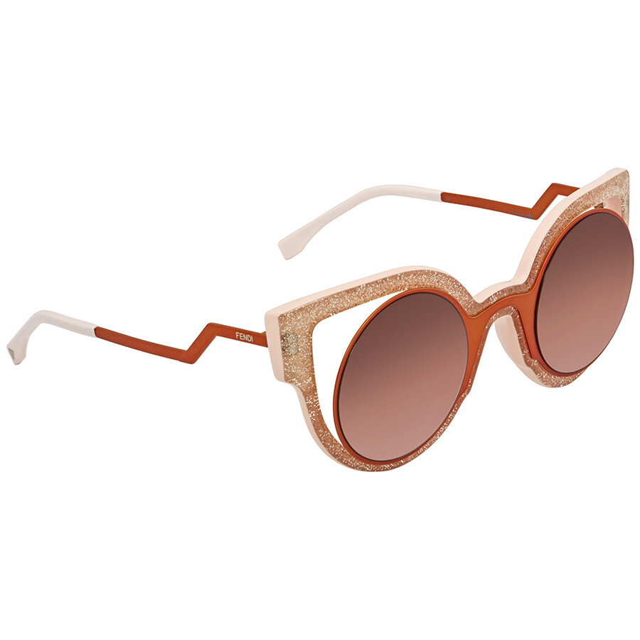 cf78798a3d9d Fendi Paradeyes Cat Eye Ladies Sunglasses FF 0137 S NUG494C - Fendi ...