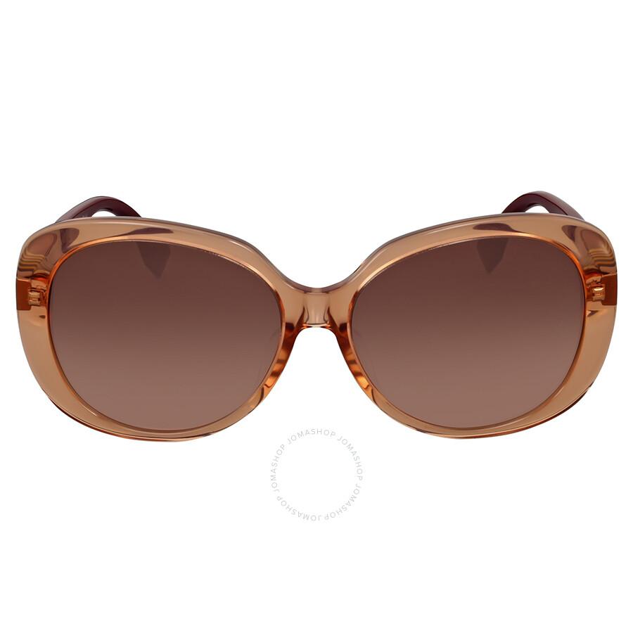 ddb4429ac37e Fendi Pequin Oversize Brown Shaded Sunglasses Item No. FF 0073 F S NZO J6