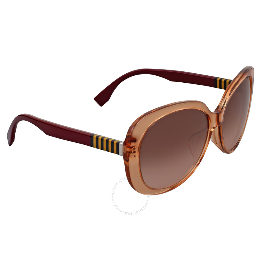 76bba53975b2 Fendi Pequin Oversize Brown Shaded Sunglasses Fendi Pequin Oversize Brown  Shaded Sunglasses ...