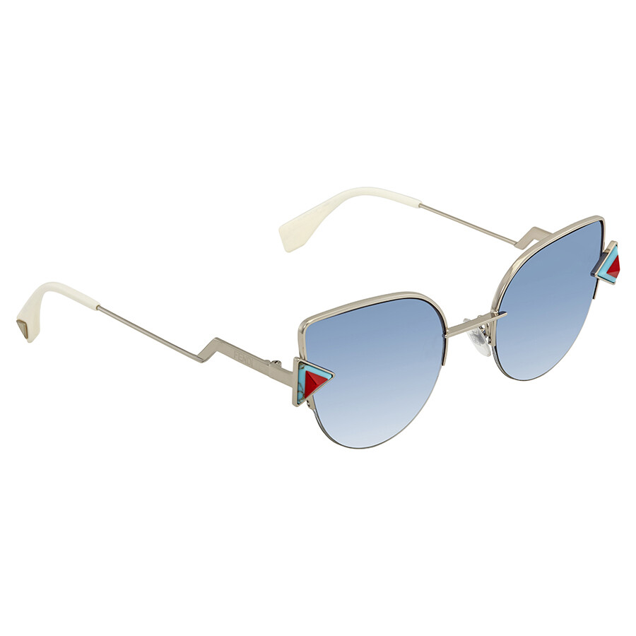 38b078382988 Sunglasses.    Fendi Rainbow Blue