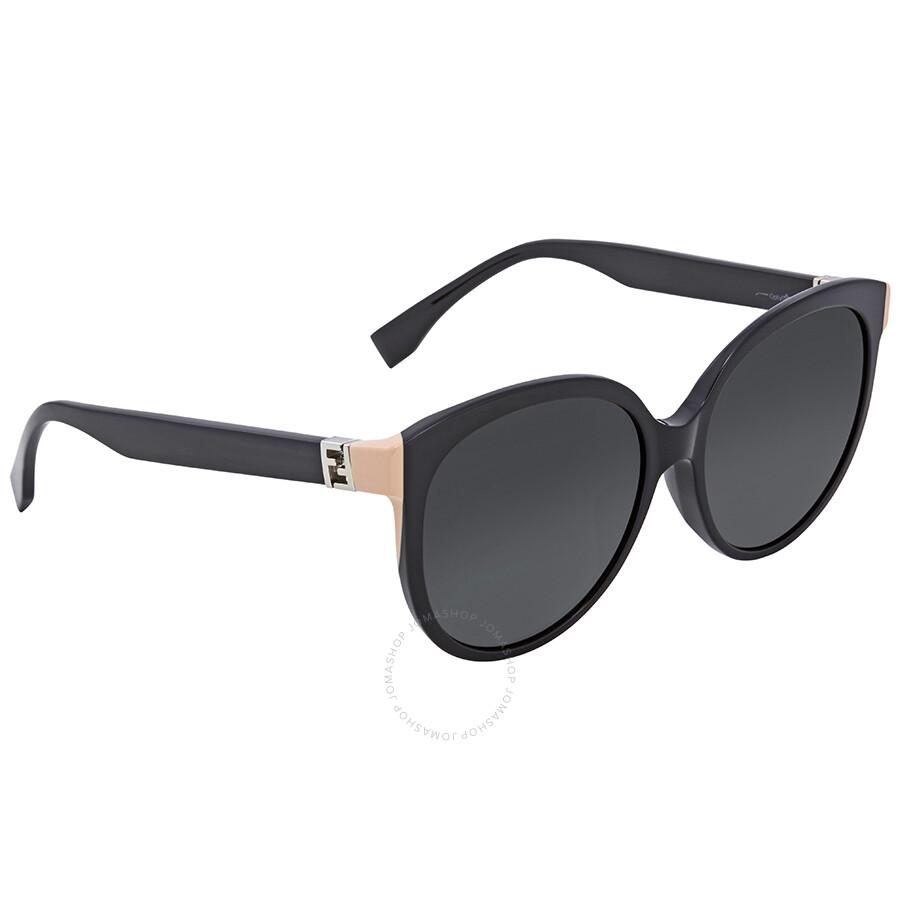 3050d5815d27 Fendi The Fendista Grey Gradient Round Sunglasses FF 0144/F/S 29ANR ...