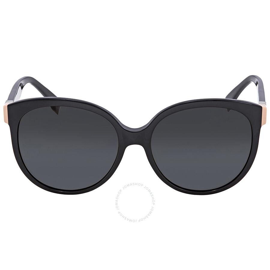 a2e0b018fb66 ... Fendi The Fendista Grey Gradient Round Sunglasses FF 0144/F/S 29ANR ...