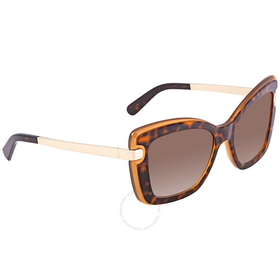 bf2f09913b0 Ferragamo Brown Gradient Square Sunglasses SF814S 226 54 - Ferragamo ...