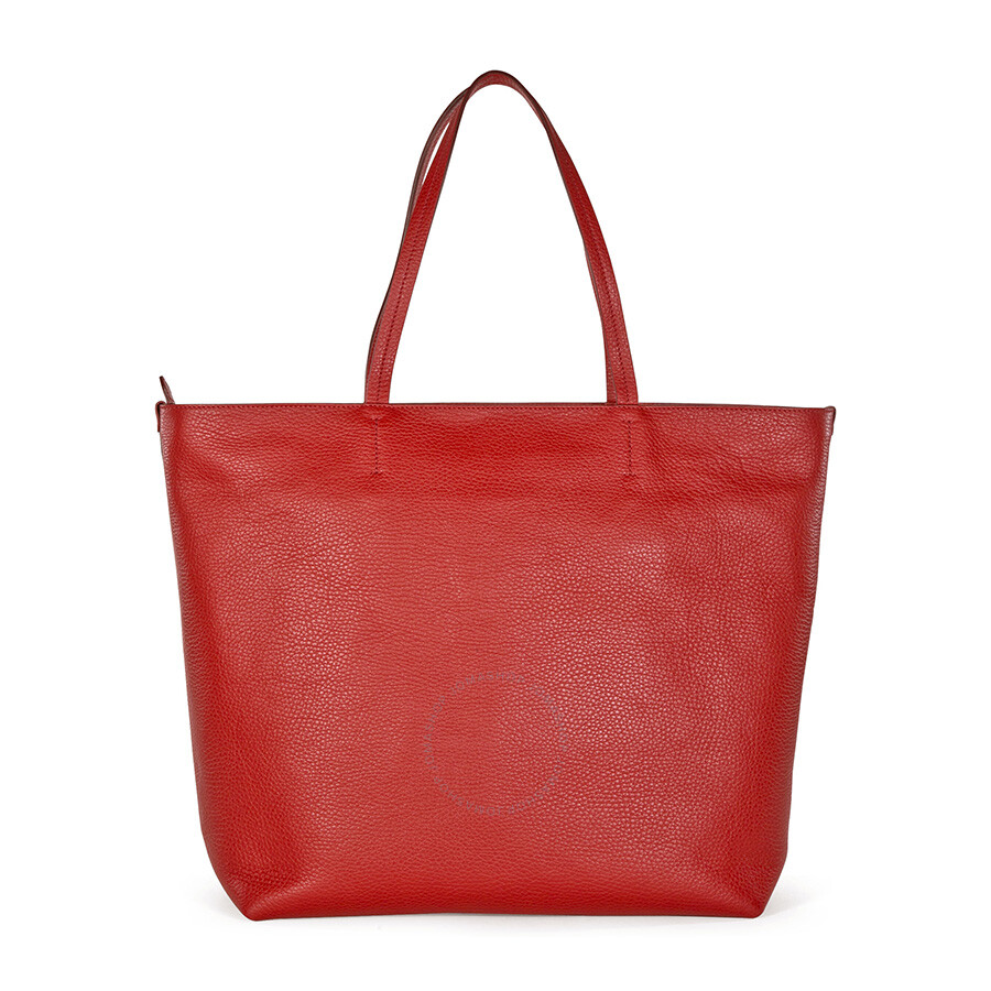 ... Ferragamo \/ Ferragamo Gina Calfskin Leather Satchel Tote - Red