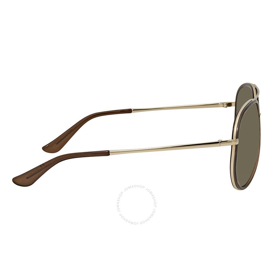 aa44b548e0 Ferragamo Green Aviator Sunglasses SF146S 210 58 - Ferragamo ...