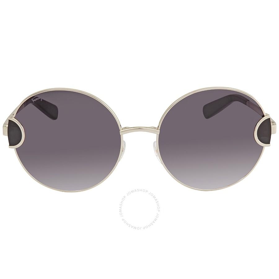 2484ec6e9 ... Ferragamo Grey Gradient Rectangular Unisex Sunglasses SF156S 703 59 ...