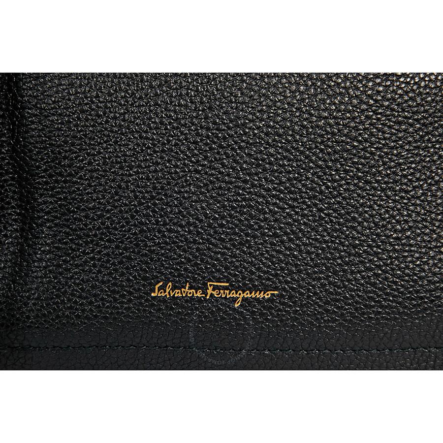 3bd39f0ad1 Ferragamo Large Gancio Leather Hobo Bag - Black - Salvatore ...