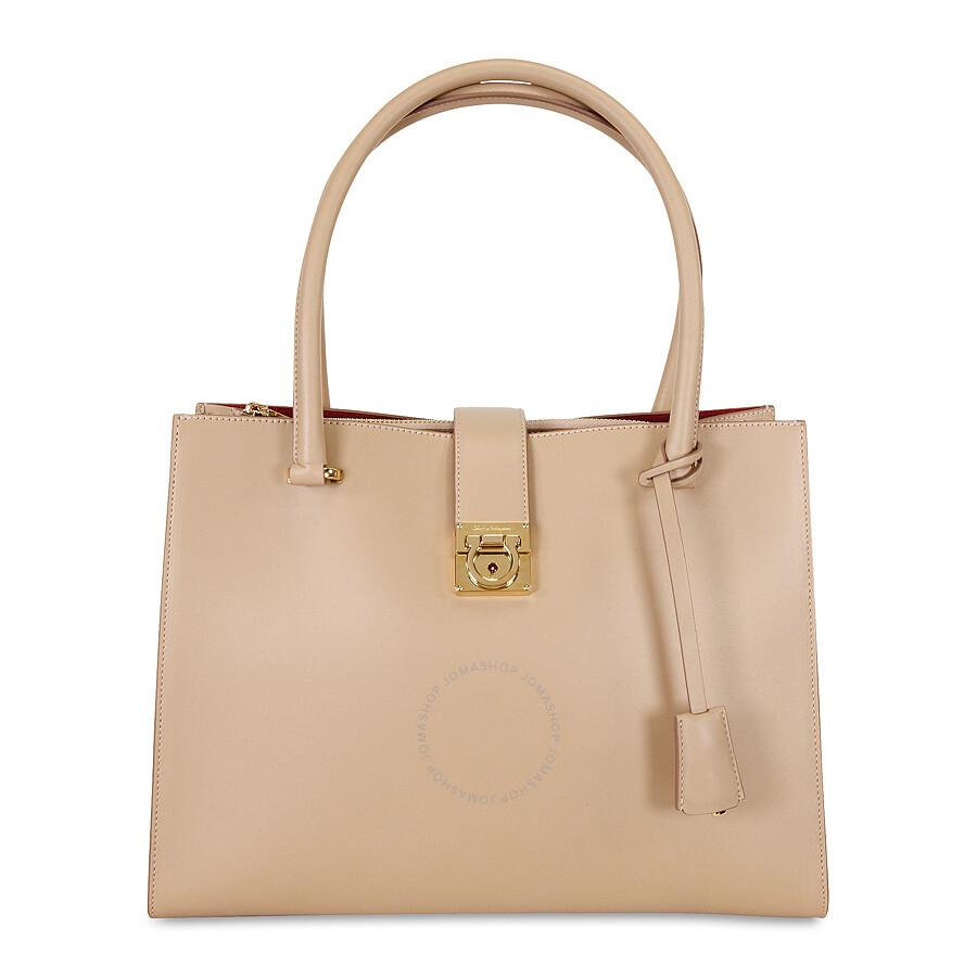 Salvatore Ferragamo.    Ferragamo Marlene Black Leather Handbag ... 5ee72c0107