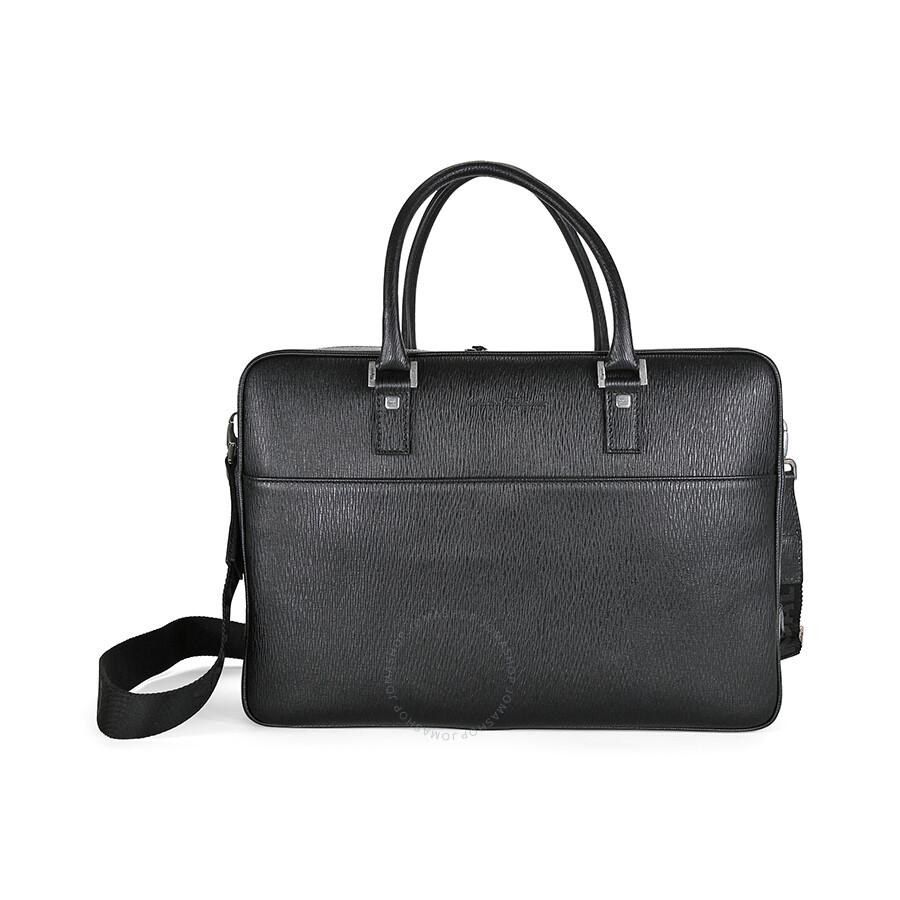 Ferragamo Revival Black Briefcase 249350 - Salvatore Ferragamo ... fe9fd8b7ae21b