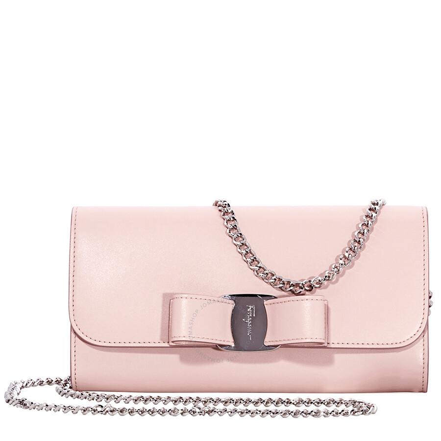 b1086251cb Ferragamo Vara Bow Mini Leather Bag- Bon Bon Pink Item No. 22D3280 691683