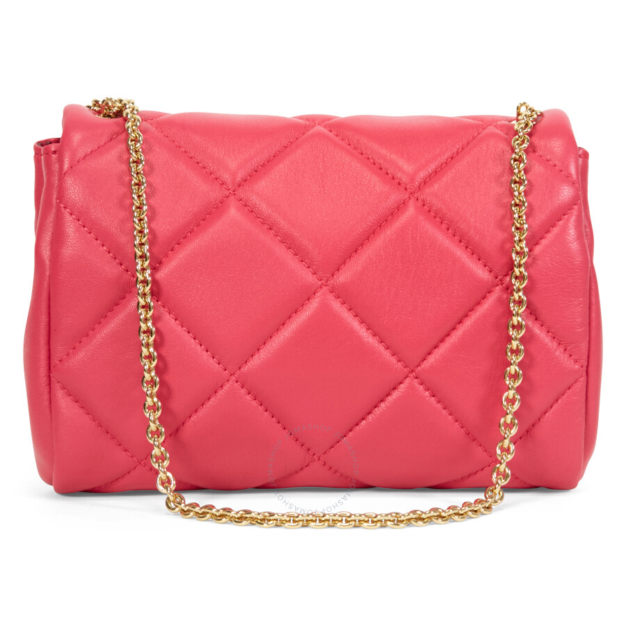 1ada1ea0991a Ferragamo Vara Quilted Nappa Leather Mini Bag - Framboise Item No.  22-C150FRM