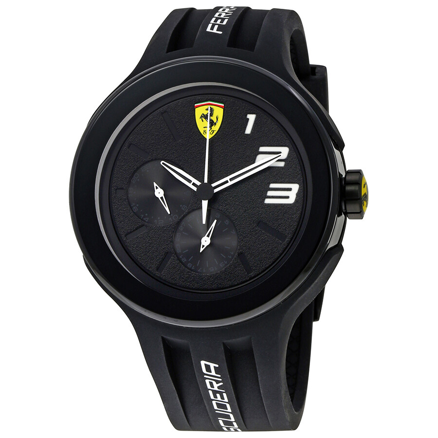 ferrari watches humble red