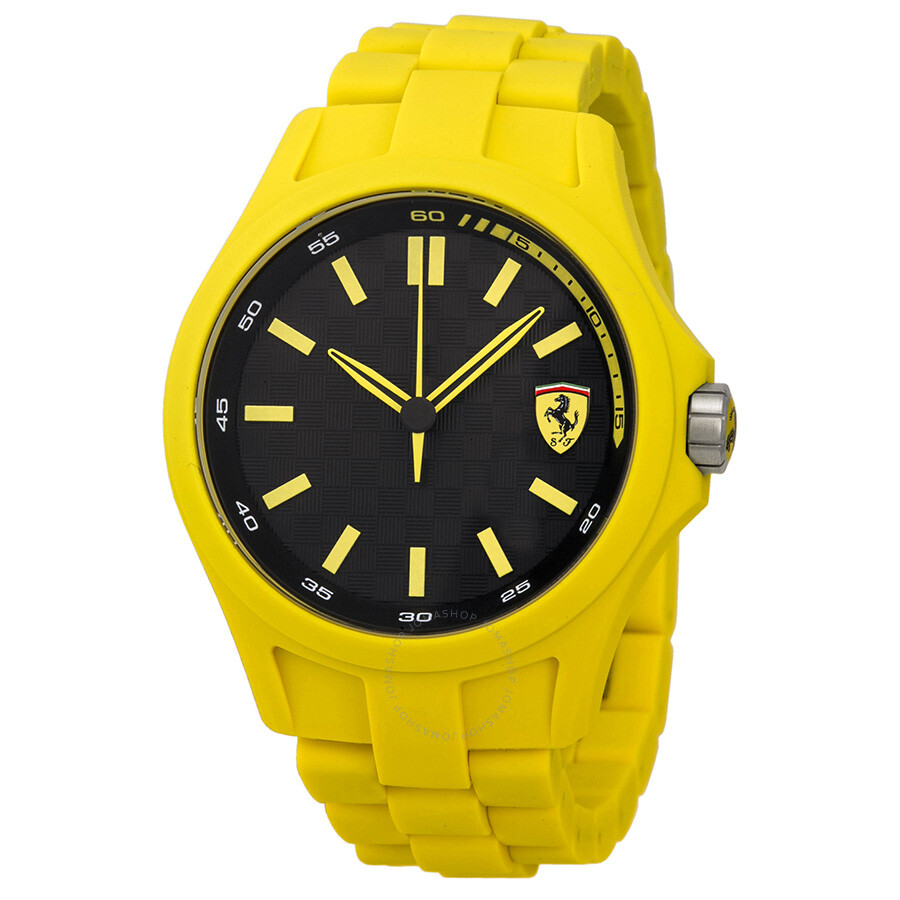 pit crew black yellow silicone s