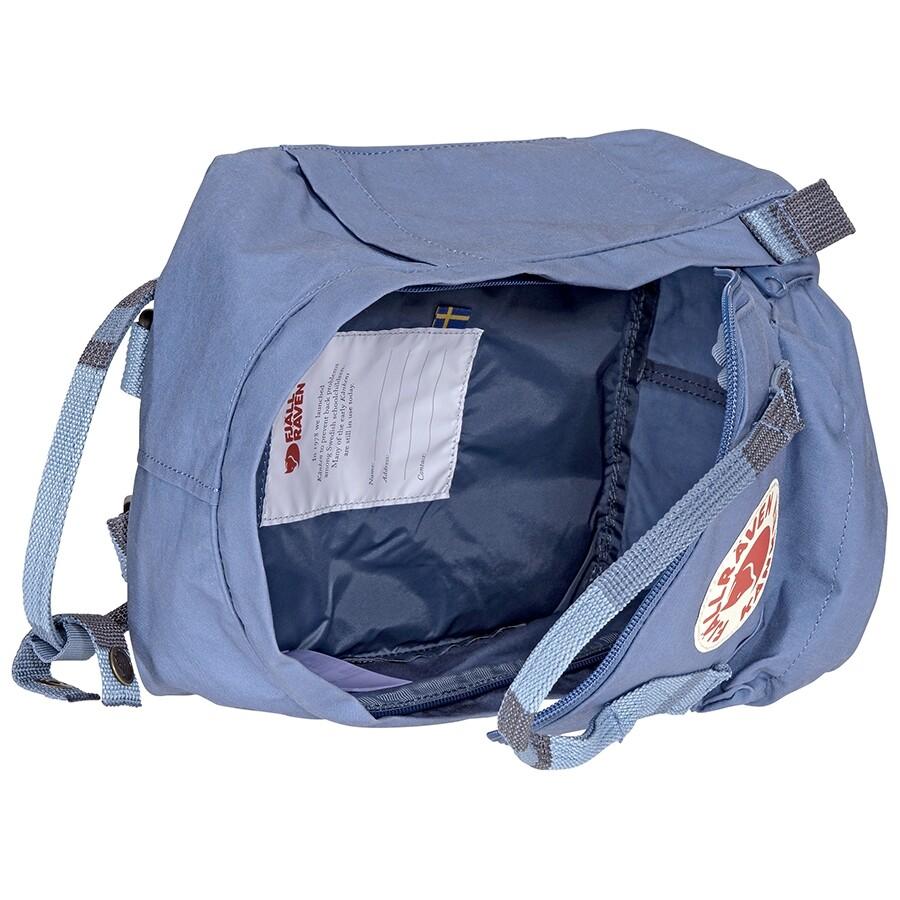 Fjallraven Kanken Mini Kids Backpack- Blue Ridge-Random Block