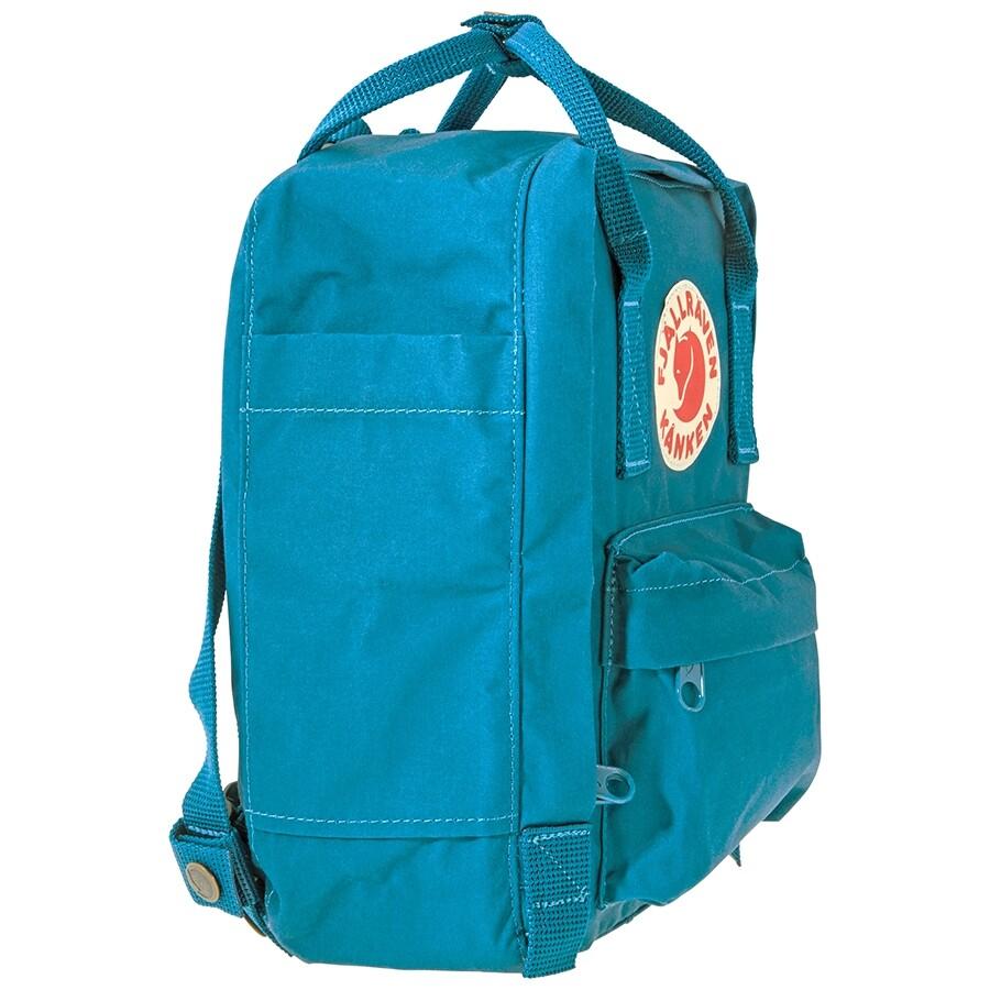 ogromna zniżka specjalne do butów sprzedawca detaliczny Fjallraven Kanken Mini Kids Backpack- Glacier Green