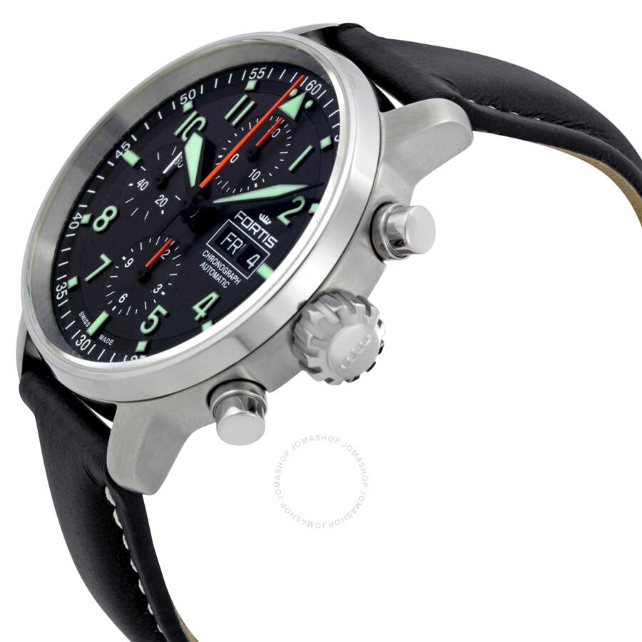 Watch 21 Men's 11 01 Fortis Flieger L Professional 705 Automatic Chronograph 5AjS4q3cRL