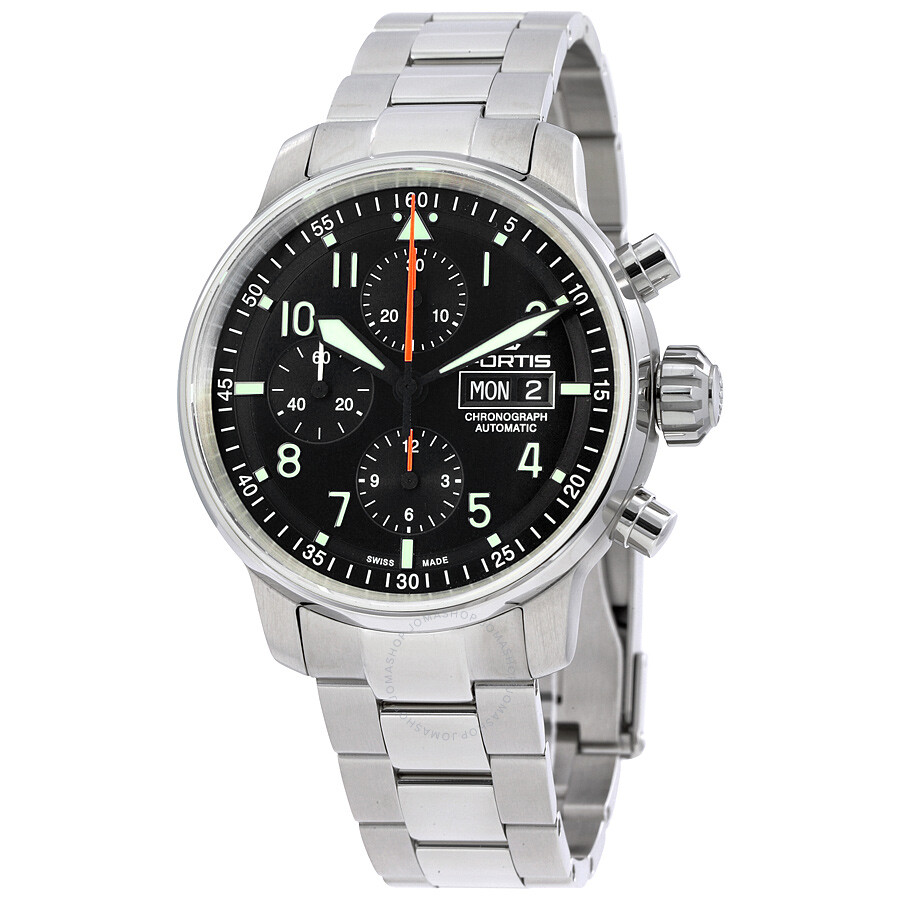 fortis flieger professional chronograph review