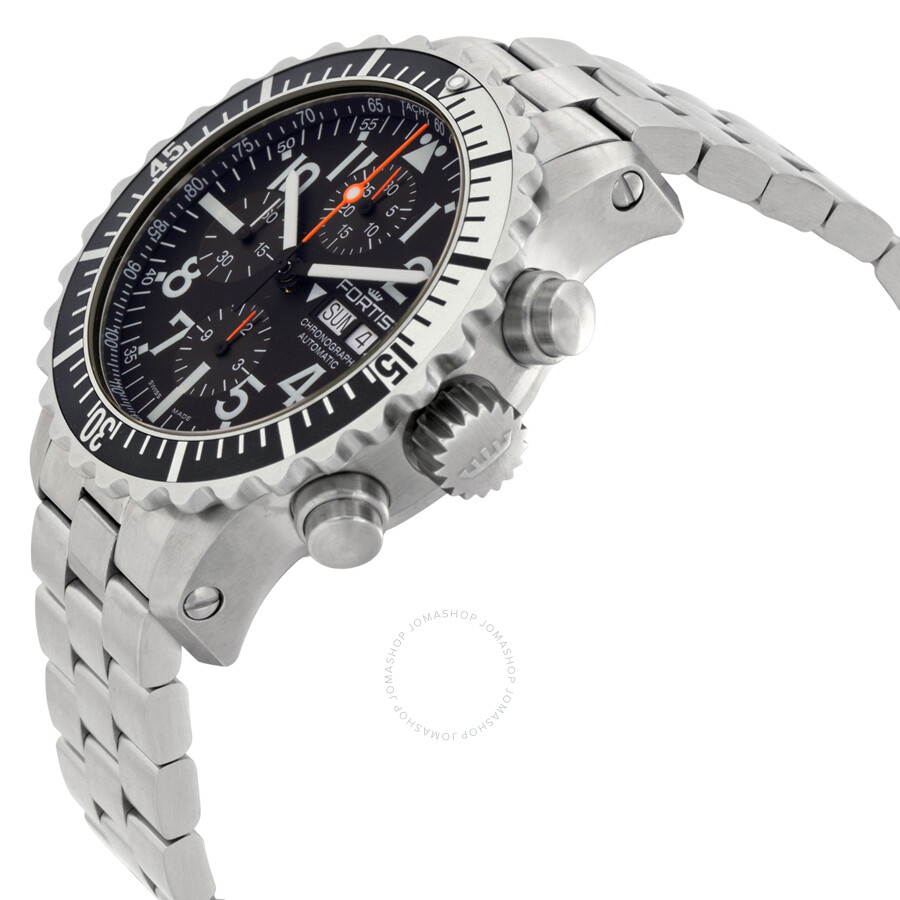 ... Fortis Marinemaster Chronograph Automatic Men s Watch 671.17.41 M ... 10a50b0d55c