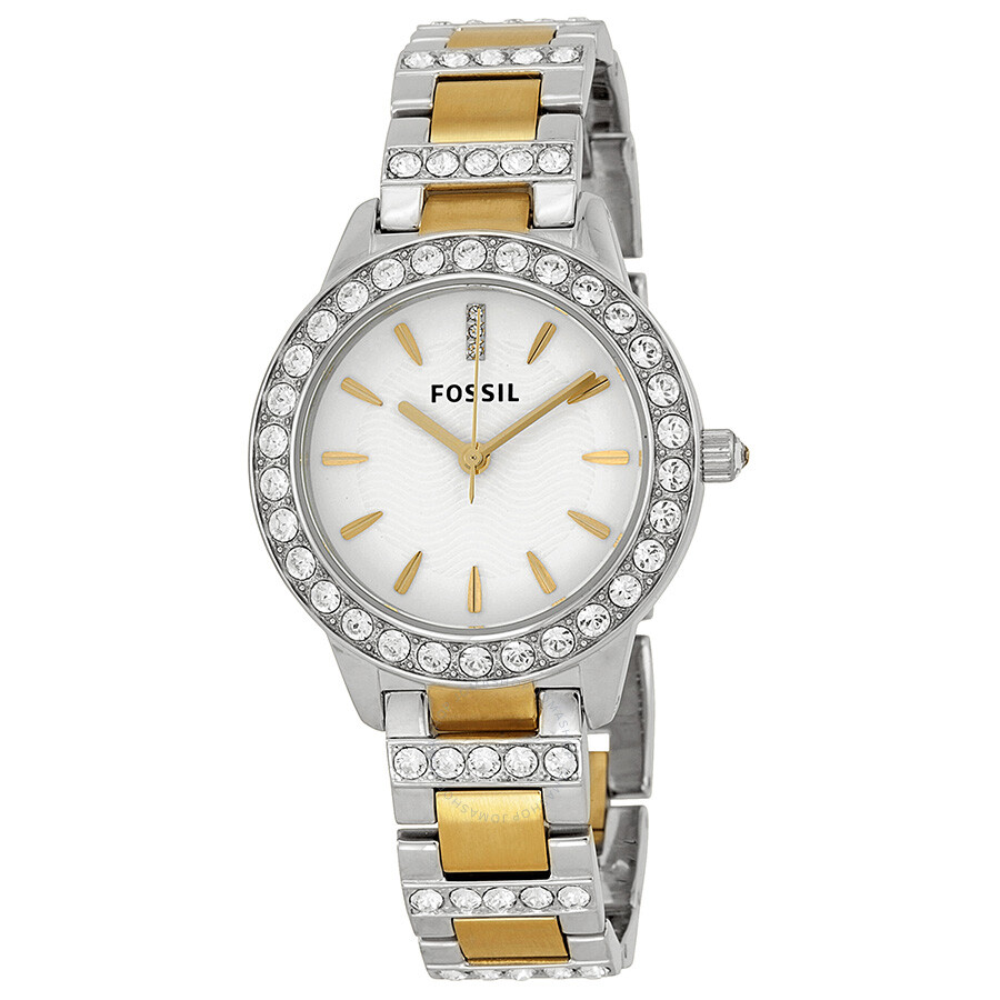 fossil two tone es2409
