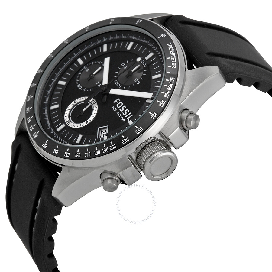 how to use tachymeter fossil watch