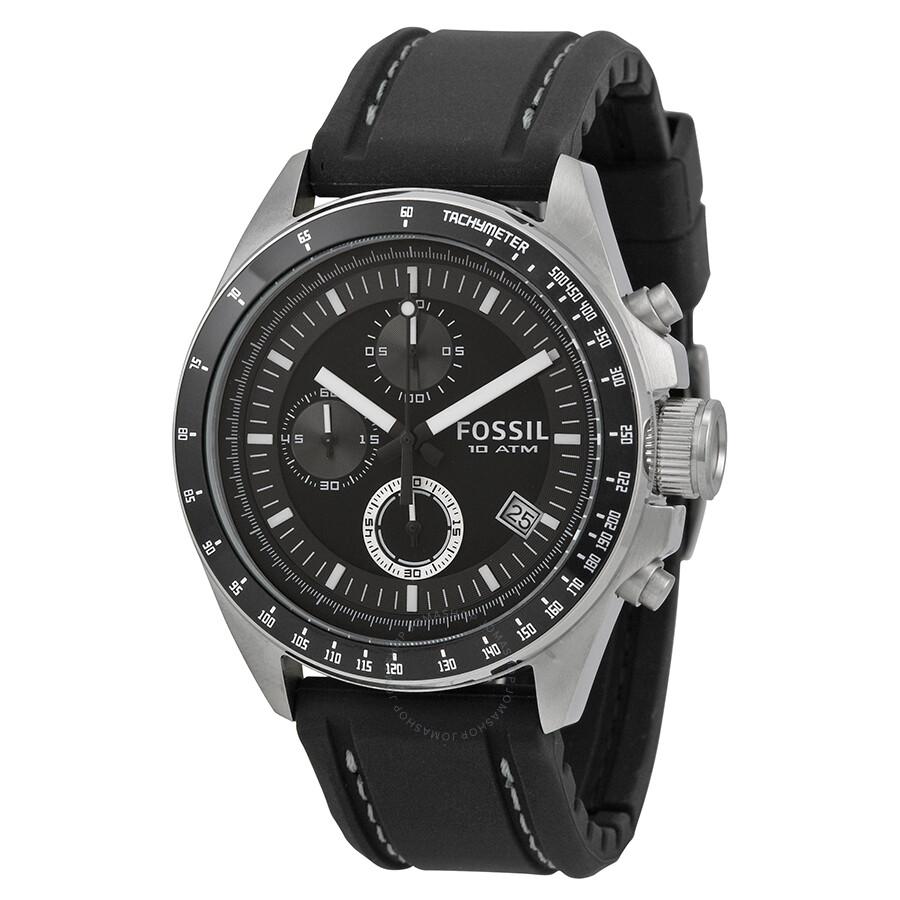 fossil dexter black dial chronograph men s watch ch2573 decker fossil dexter black dial chronograph men s watch ch2573