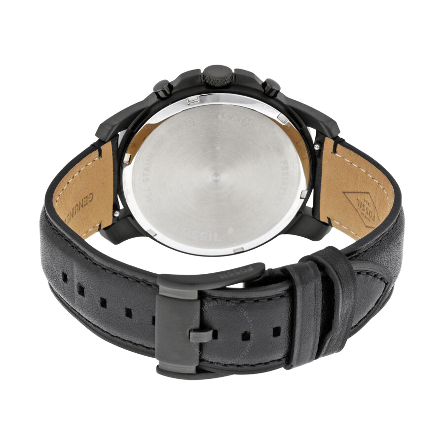 how to set fossil digital watch