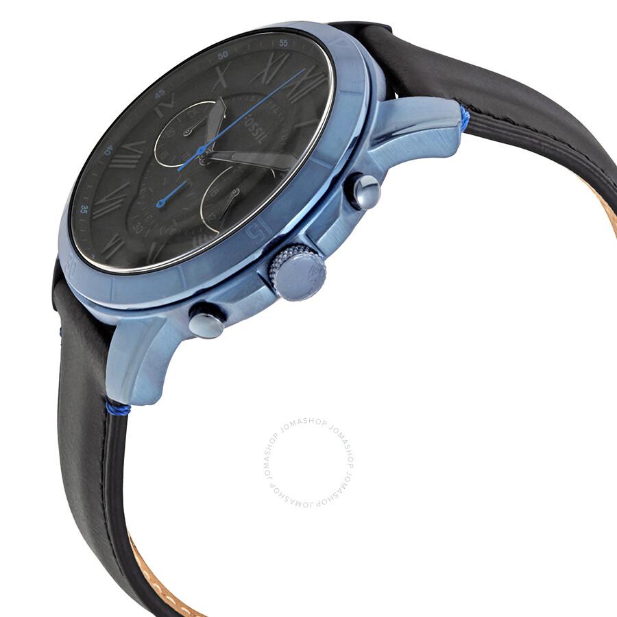 a60bf0320d0b1 ... Fossil Grant Sport Chronograph Black Dial Men s Watch FS5342 ...