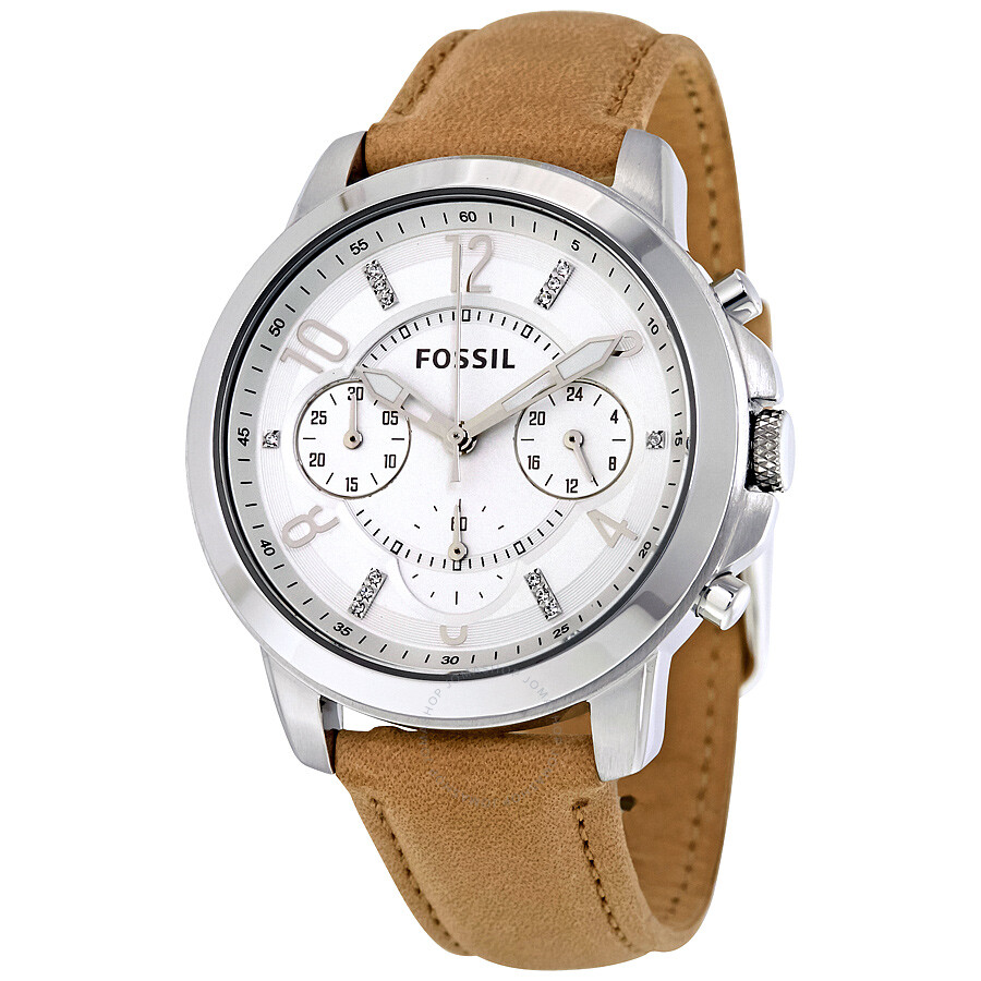 Fossil gwynn chronograph ladies watch es4038 fossil watches jomashop for Fossil watches