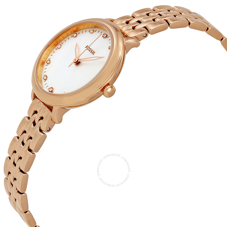 Fossil Tailor Multifunction Rose Gold Stainless Steel Watch Es 4055 Es3954 Light Brown Leather Tone Source