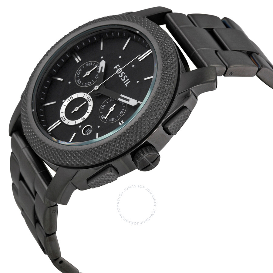 fossil machine chronograph black dial men 39 s watch fs4662. Black Bedroom Furniture Sets. Home Design Ideas