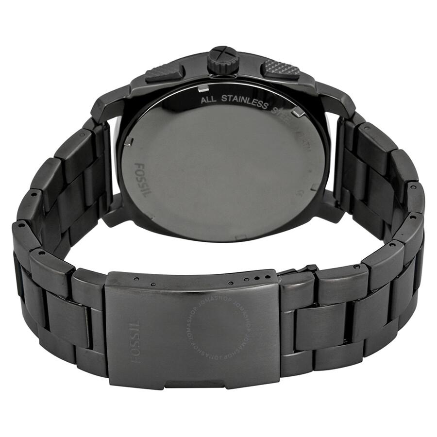 Fossil Machine Chronograph Black Dial Men's Watch FS4662 ...