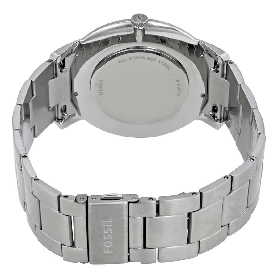 47e38a3e3 Fossil Minimalist Black Dial Men's Watch FS5307 - Fossil - Watches ...