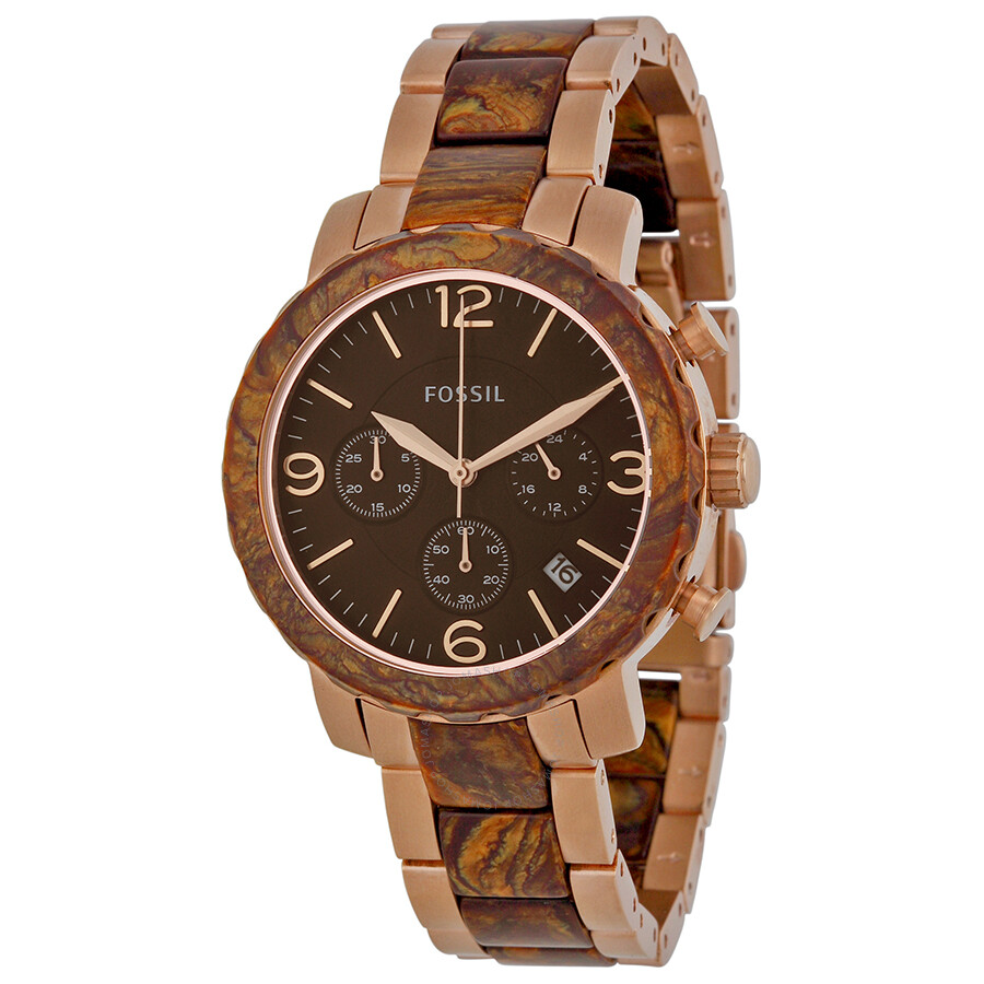 fossil natalie two tone jr1385 fossil
