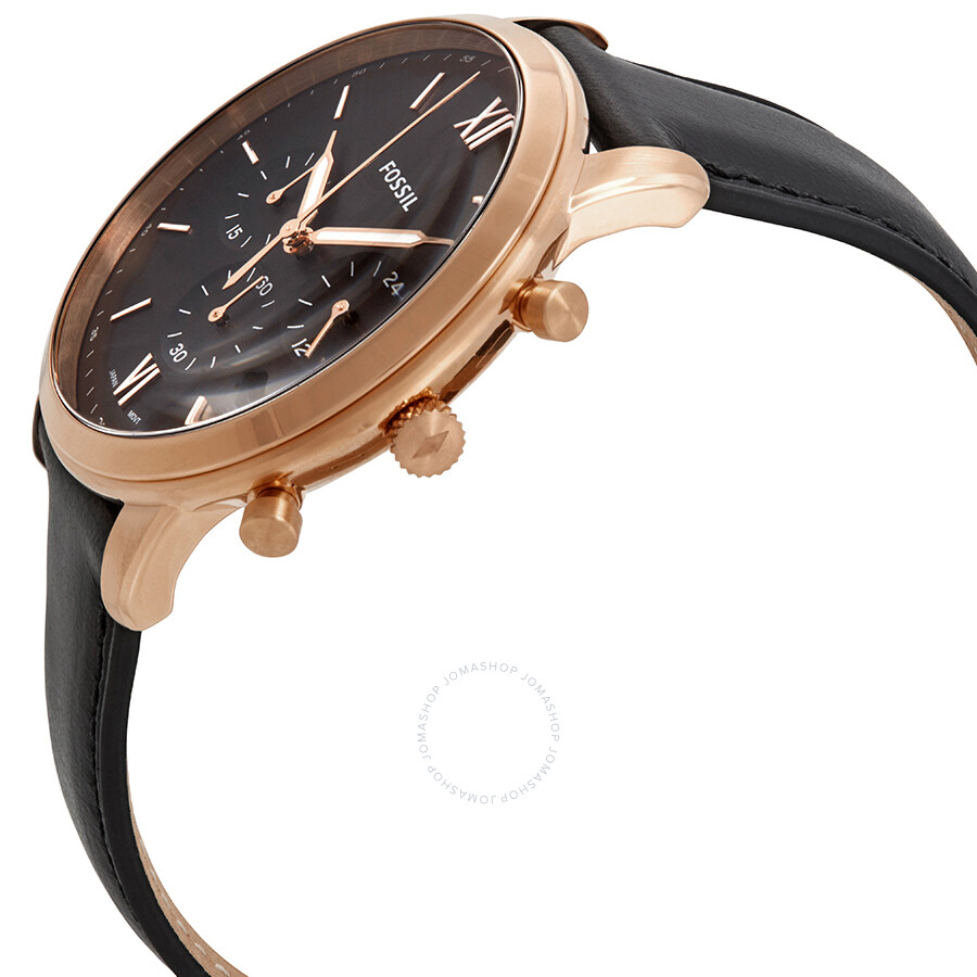 Fossil Neutra Chronograph Black Dial Men S Watch Fs5381 Fossil