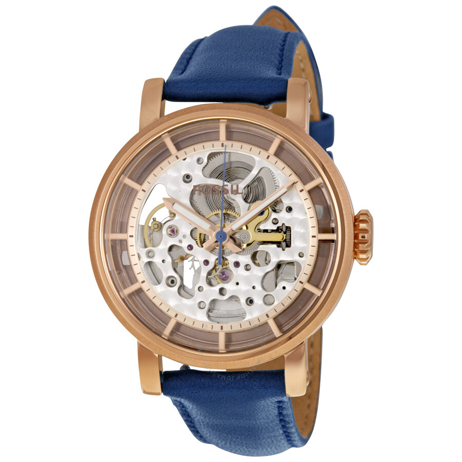 Fossil Original Boyfriend Automatic Skeleton Dial Ladies Watch ME3086 ... 52bbfafe3c