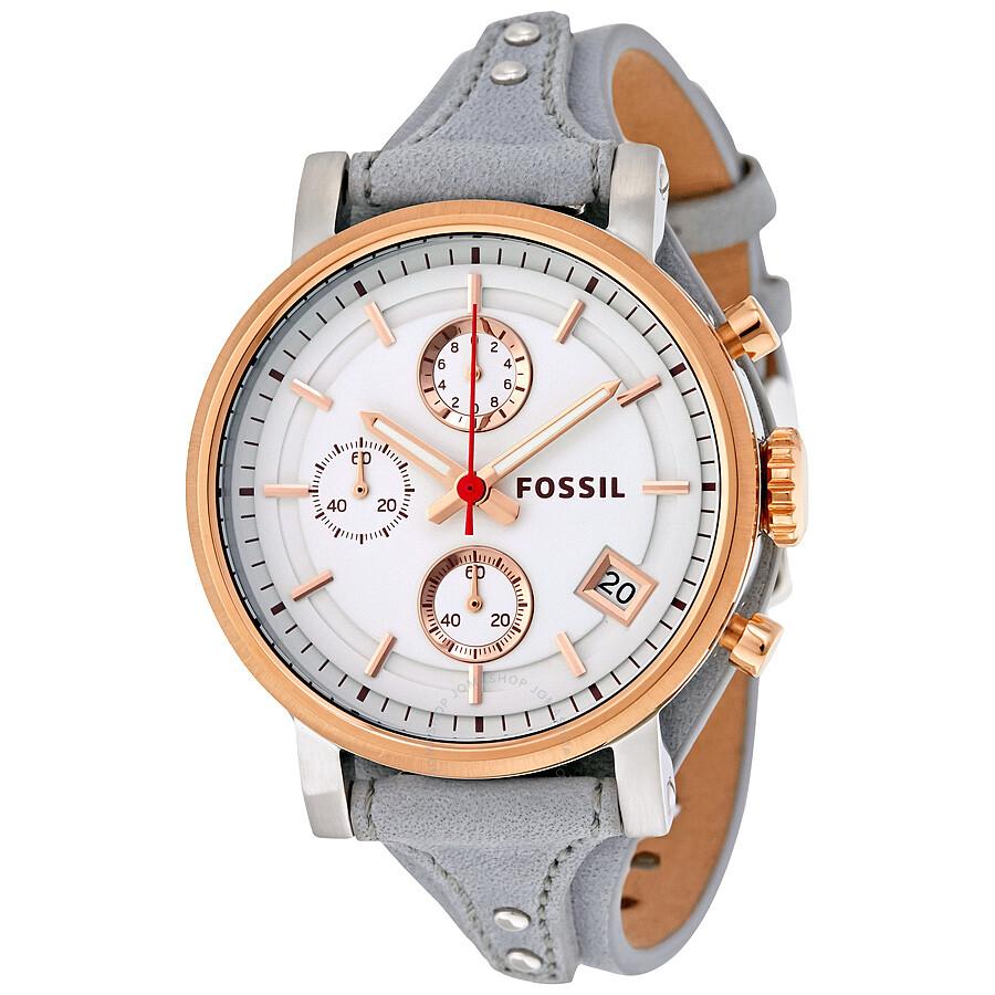 a646a33aca3 Fossil Original Boyfriend Chronograph Ladies Watch ES4045 ...