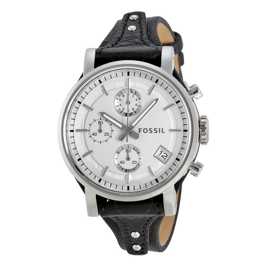 Fossil original boyfriend chronograph white dial ladies watch es3817 boyfriend fossil for Fossil watches