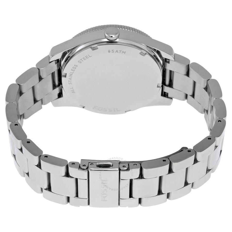 Fossil perfect boyfriend purple gradient dial stainless steel ladies watch es3778 boyfriend for Gradient dial watch