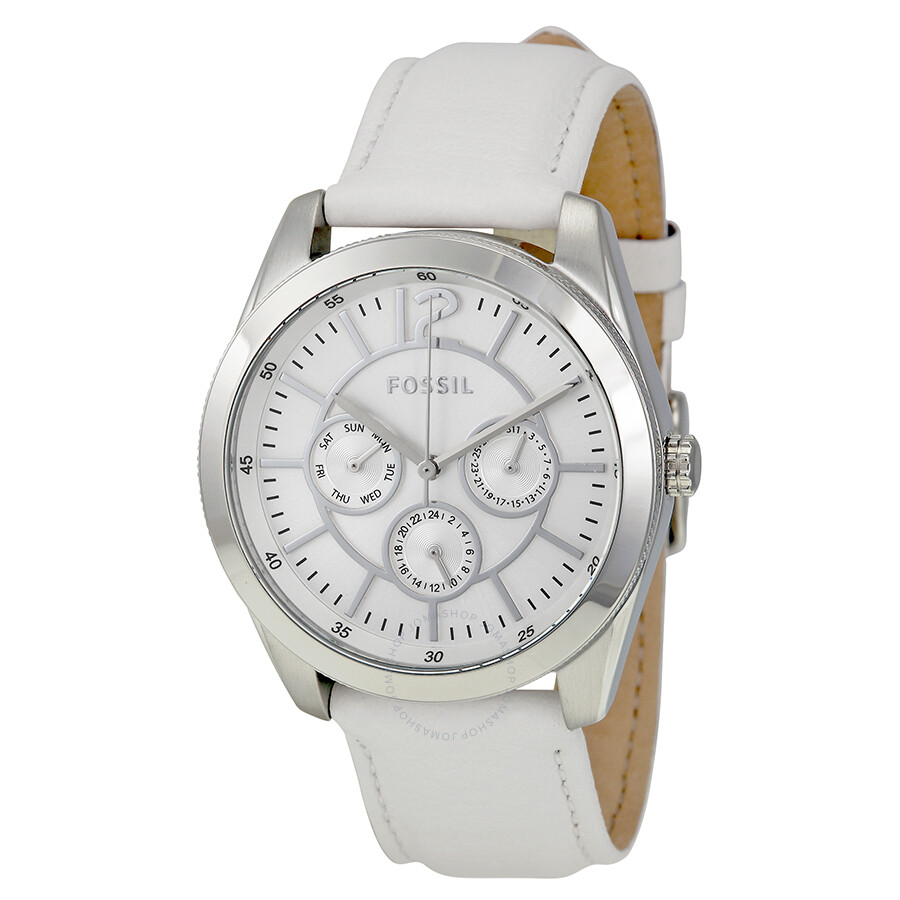 Fossil Leather Watch Ladies Leather Strap Ladies Watch