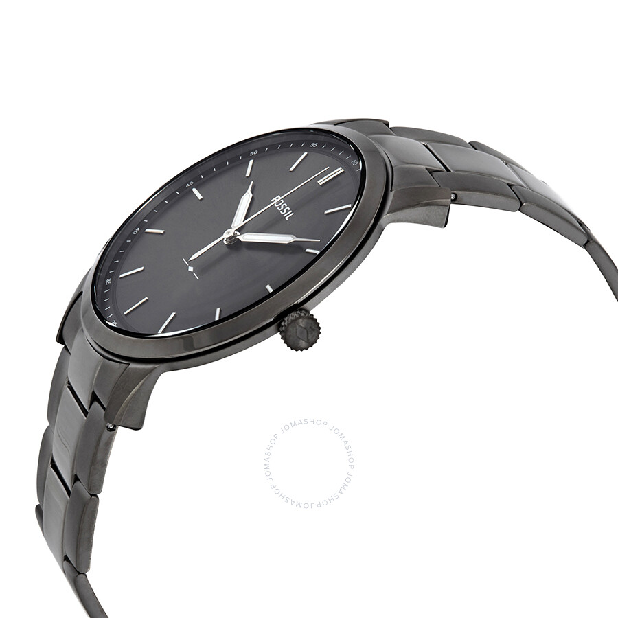 2dbed5a8fb41 Fossil The Minimalist 3H Grey Dial Men s Watch FS5459 - Fossil ...